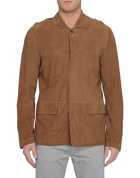 Jofre Leather Outerwear Brown