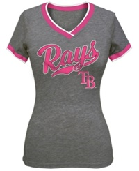 5Th And Ocean Girls' Tampa Bay Rays V Neck T Shirt