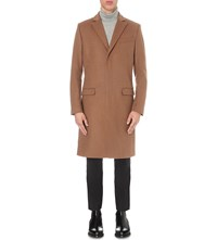 Tiger Of Sweden Dempsey Wool Blend Coat Beige