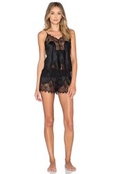 Kisskill Eva Cami And Short Set Black
