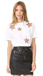 Red Valentino Star T Shirt White