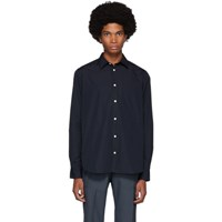 Norse Projects Navy Hans Shirt