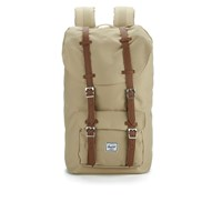 Herschel Supply Co. Little America Backpack Khaki Tan Synthetic Leather