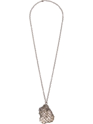 Henson Netted Necklace Metallic