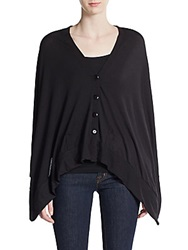 Sweet Pea V Neck Buttoned Shawl