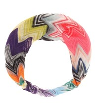 Missoni Mare Knitted Hairband Multicoloured