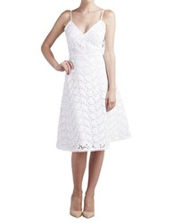 Paper Crown Jade Lace Sleeveless Dress White Lace