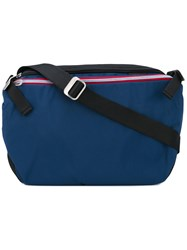 Cote And Ciel Riss Nylon Messenger Bag Unisex Nylon One Size Blue
