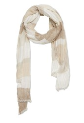 Stefanel Stripe Mix Scarf Grey