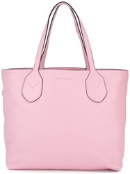 Marc Jacobs Dual Shopping Tote Pink Purple