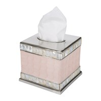 Julia Knight Classic Tissue Box Cover Pink Ice