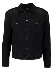 Edwin High Road Denim Jacket Ink Black Denim