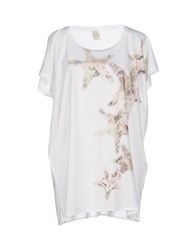 Jijil Topwear T Shirts Women White