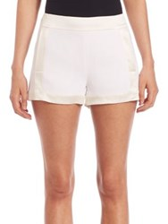 Ramy Brook Solid Leilah Shorts Soft White