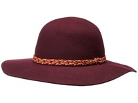 Prana Edie Hat Black Cherry Caps Burgundy