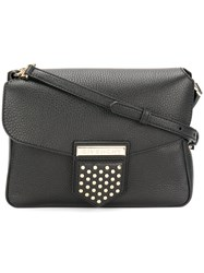 Givenchy Studded Nobile Shoulder Bag Women Calf Leather One Size Black