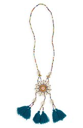 Panacea Women's Beaded Shell Necklace