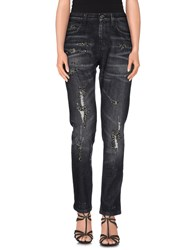 Gucci Denim Denim Trousers Women Lead