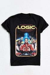 Urban Outfitters Logic 80S Tee Black