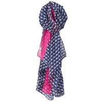 Joules Longline Wensley French Bee Scarf Navy Multi