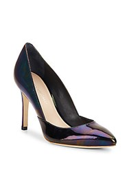 Loeffler Randall Pari Patent Leather Pumps Petrol