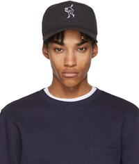 Rag And Bone Black Dylan Baseball Cap
