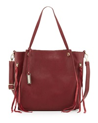 Urban Originals Wonder Zip Pocket Tote Bag Cherry