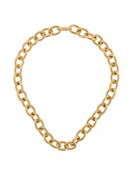 Isabel Lennse Chunky Chain Necklace Gold