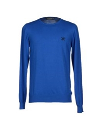Frankie Morello Sweaters Bright Blue