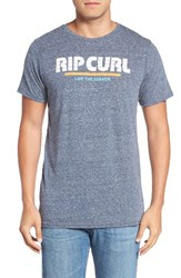 Rip Curl Men's Lined Mama T Shirt Navy