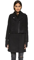 Eleven Paris Prometheus Coat Black
