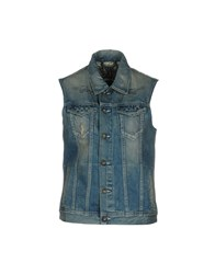 Andy Warhol By Pepe Jeans Denim Outerwear Blue