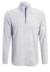 Brunotti Fleece Jumper Light Grey Melee