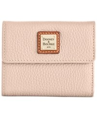 Dooney And Bourke Pebble Small Flap Wallet Blush