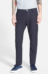 Topman Navy Pin Dot Skinny Fit Chinos Nordstrom Exclusive Blue