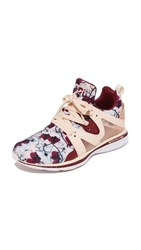 Apl Athletic Propulsion Labs Ascend Sneakers Blush Floral Red