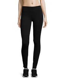 Marc Ny Performance Ponte Moto Leggings Black