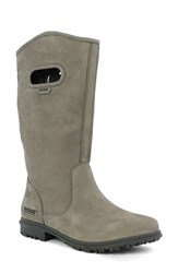 Bogs Women's 'Betty' Waterproof Tall Boot Taupe Suede