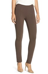 Petite Women's Nic Zoe 'The Perfect Ponte' Pants River Rock
