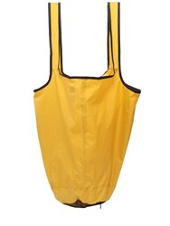 K Way Le Vrai 3.0 Packable Nylon Tote Bag Yellow