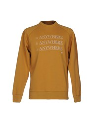 Roundel London Sweatshirts Ocher