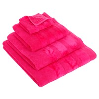 Designers Guild Coniston Towel Fuchsia Face Cloth