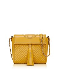 Tory Burch Handbags Fleming Convertible Quilted Leather Box Crossbody Bag