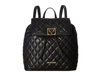 Love Moschino Superquilted Fold Over Black