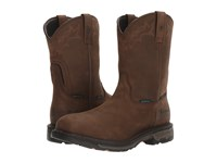 Ariat Workhog Wellington H2o Ct Oily Distressed Brown Men's Work Boots Tan