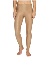 Onzie High Rise Leggings Taupe Snake Women's Casual Pants