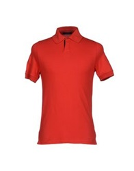Alpha Massimo Rebecchi Polo Shirts Red