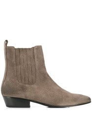 Marc Ellis Chelsea Ankle Boots Grey