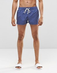 Ringspun Star Short Shorts Co Ord Navy