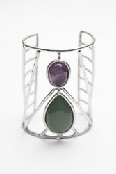 Free People Caged Stone Cuff